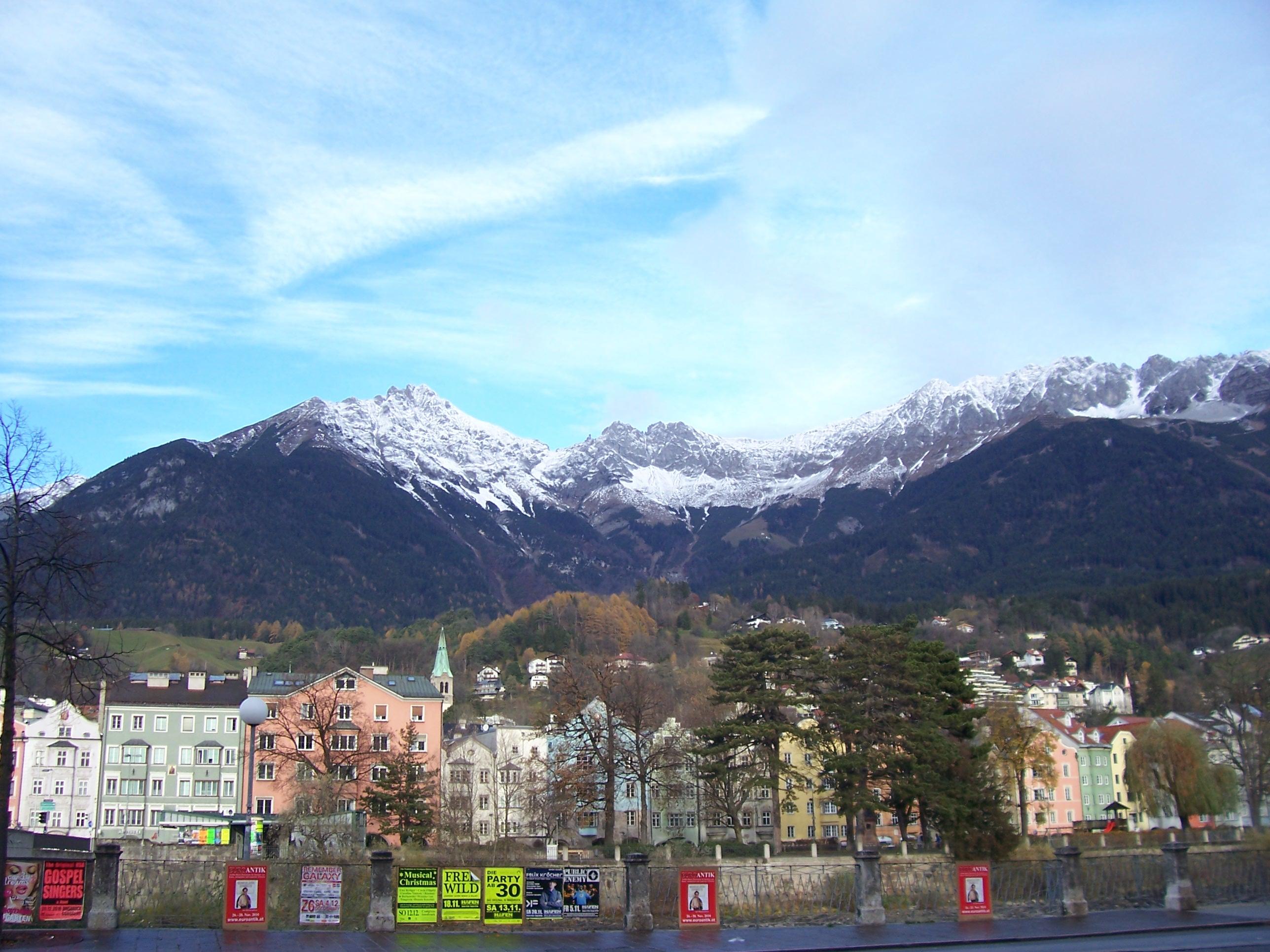 Austria, Innsbruck, Alps,