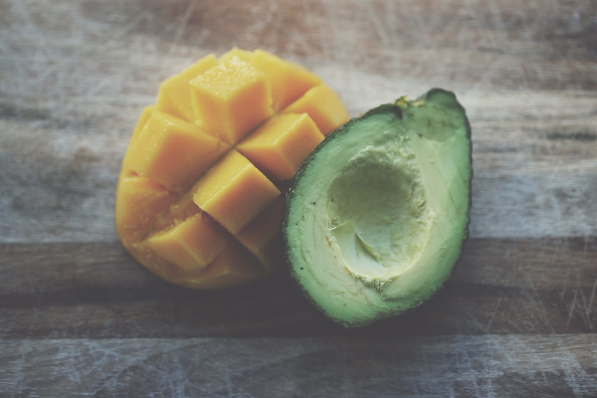mango, avocado, fruit, health, fitness, self-care
