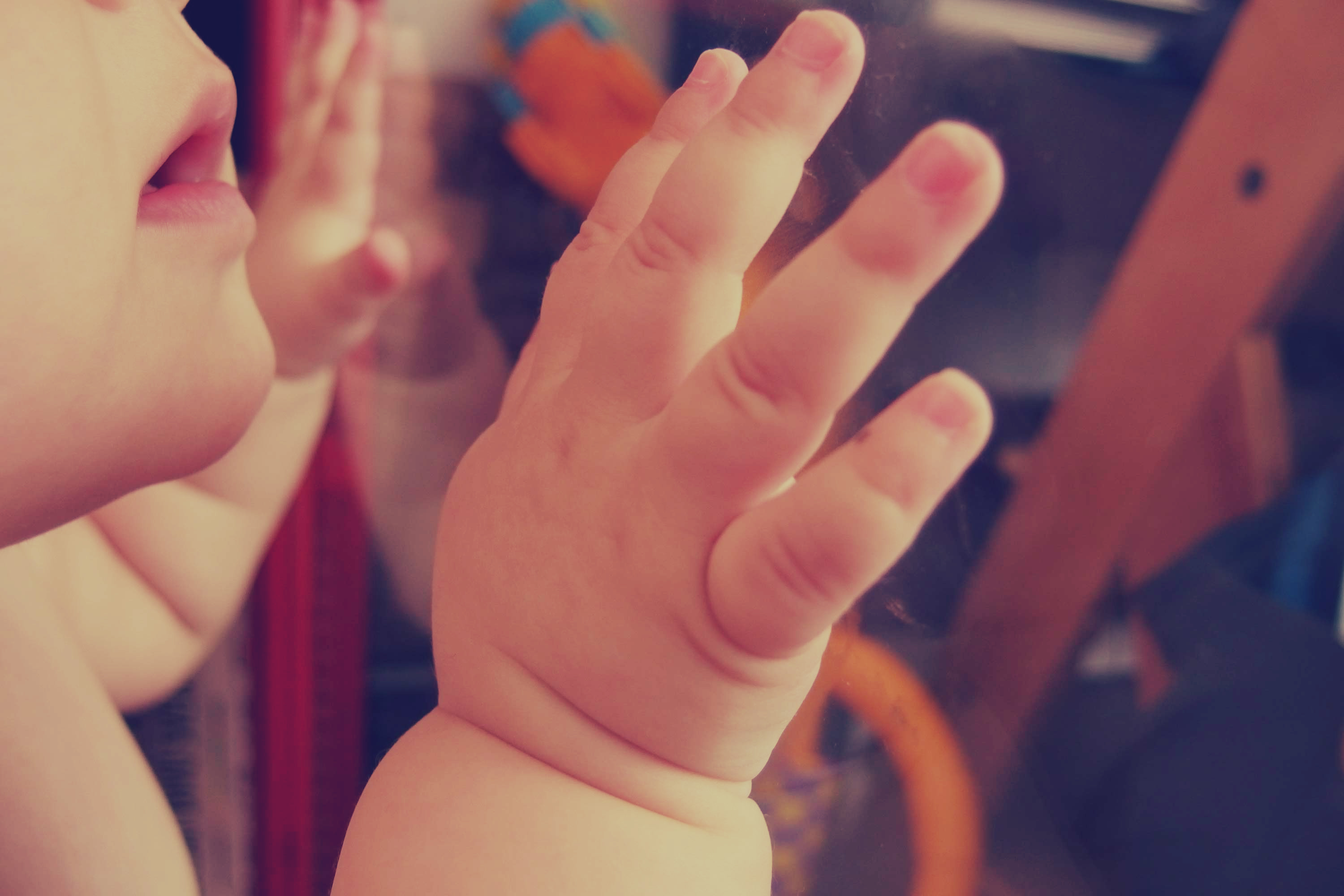 baby, child, hands, mouth, people